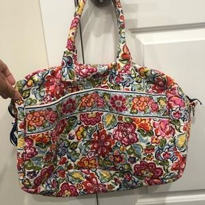 Vera Bradley travel duffle luggage